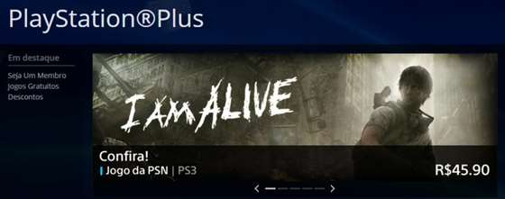 I Am Alive na PlayStation Plus