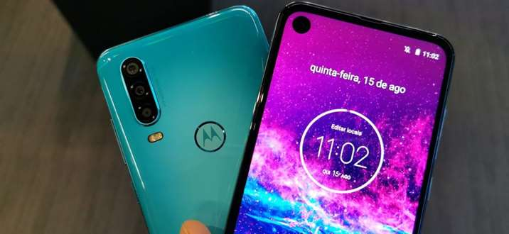 Câmeras do Motorola One Action